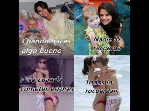 Selena tambien tiene sentimientos.