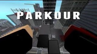 "Roblox ""Parkour"" Getting to the red doors"