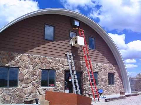Quonset Hut Project  YouTube