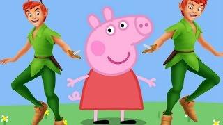 Peppa Pig Desenho em português com Peter Pan 2015