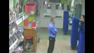 Драка в магазине. Красноярск