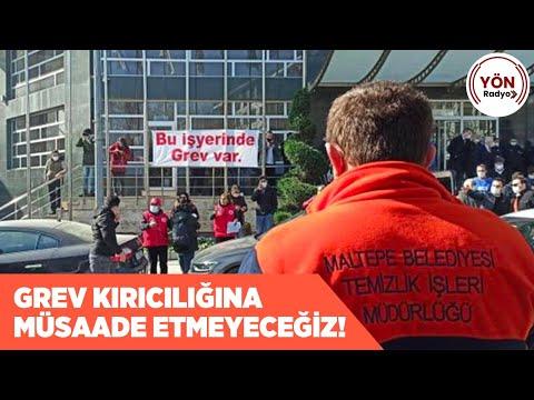 Maltepe Belediyesi İşçileri: \