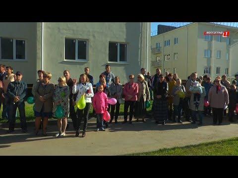 В Краснослободске вручили ключи новоселам, переселенным из аварийного жилья.