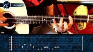 "Cómo tocar ""Sweet Dreams"" Marilyn Manson en Guitarra Acústica (HD) Tutorial - Christianvib"