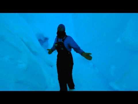 Ice Caves In Antarctica