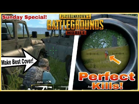Pubg Mobile : How To Win Chicken Dinner Like a Pro! | Best Strategy Cover & Shoot😎