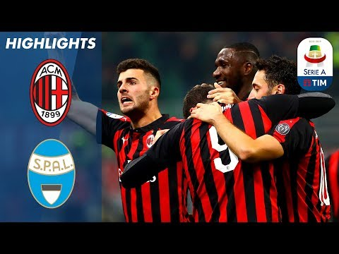 Milan 2-1 Spal | 10 Man Milan Beat Spal 2-1 At The San Siro | Serie A
