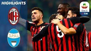 Milan 2-1 SPAL | Ten Man Milan Get Past Spal at the San Siro | Serie A