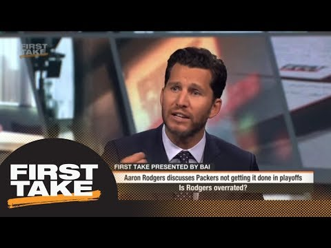 Aaron Rodgers Is 'Overrated' | First Take | ESPN