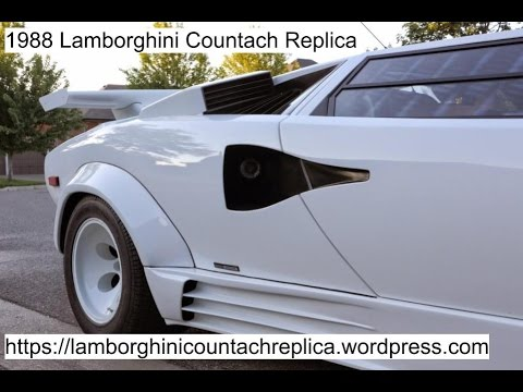How to park a Lamborghini Countach - YouTube  |Lamborghini Countach Reverse