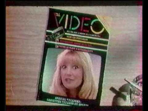 TELE CINE VIDEO Publicité magazine vidéo année 80