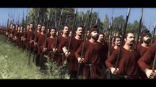 Battle of Hastings 1066 AD   Normans V Anglo-Saxons   Total War Saga: Thrones of Britannia cinematic