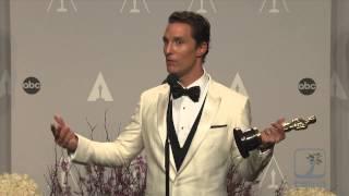 "Matthew McConaughey is feeling ""Alright, Alright, Alright"" after winning Oscar"