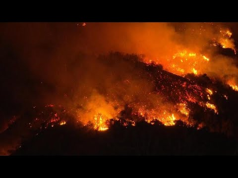 Holy Fire pushes closer to densely-populated neighborhoods