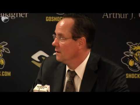 WSU coach Gregg Marshall talks about beating Evansville 109-83