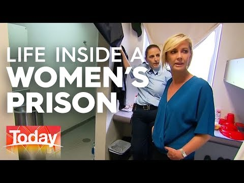 Women's Lives Behind Bars   TODAY Show Australia