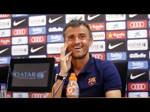 Rueda de prensa de Luis Enrique previa al Barça -At. Madrid