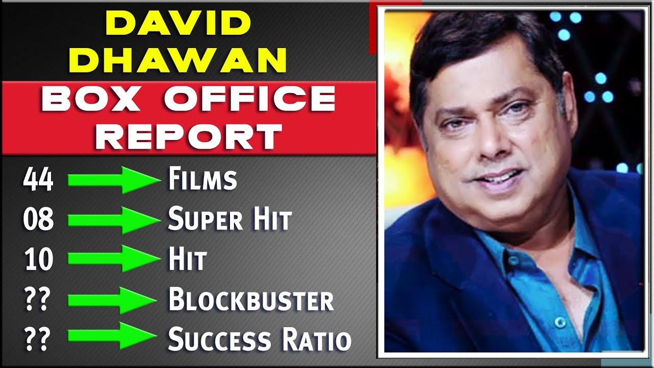 David Dhawan Career Analysis with Box Office Hit Flop and Blockbuster All Movies List  Success Ratio