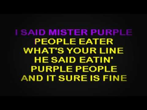 SC2125 08   Wooley, Sheb   Purple People Eater [karaoke]