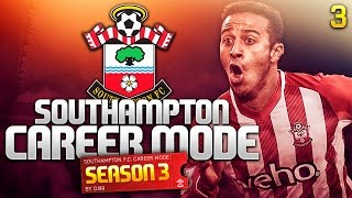 FIFA 15 Career Mode - NEW STRIKER NEEDED! FIRST BIG GAME! - Southampton Series 3 Episode 3