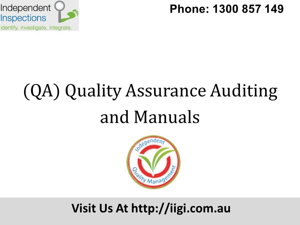 Quality Assurance Certification Youtube