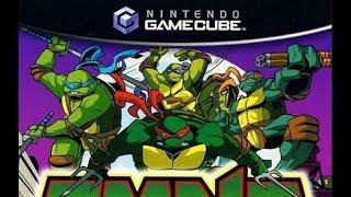 TMNT Mutant Melee / Ninja Turtles / Nintendo Gamecube Games / Gameplay FHD