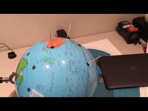 Flat Earth - A simple experiment confirming the Globe on the Equinox.