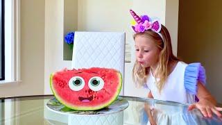 Nastya muestra cómo no enfermarse, Children's Story sobre cómo se propagan los virus