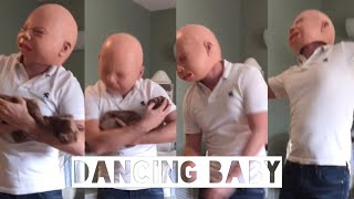 Pregnancy Labor Dance ( Baby Mask Dance ) The Weekend - I Feel It Coming