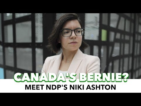 Meet Niki Ashton, Canada's Answer To Bernie & Corbyn