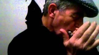 Lou Kessel playing Tumbalalaika on harmonica