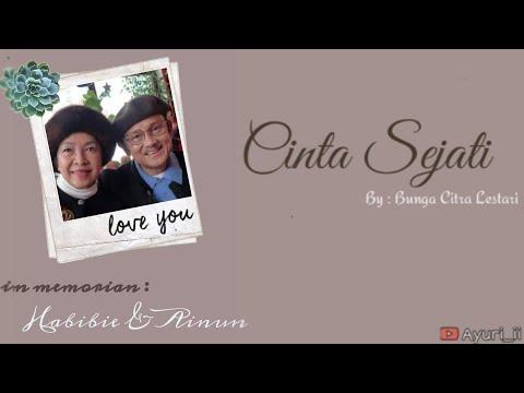 [ENG SUB] Cinta Sejati - Bunga Citra Lestari || Tribute to Bapak Habibie dan Ibu Ainun