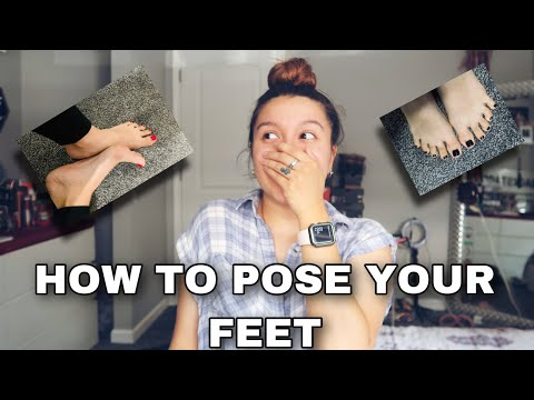 HOW TO SELL FEET PICS * POSE EXAMPLES * ONLY FANS