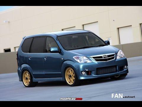 Modifikasi Toyota AVANZA Ceper GAUL Abis!