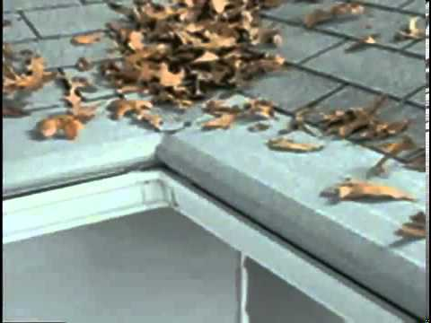Understandiing Alcoa Leaf Relief Gutter Cover Youtube