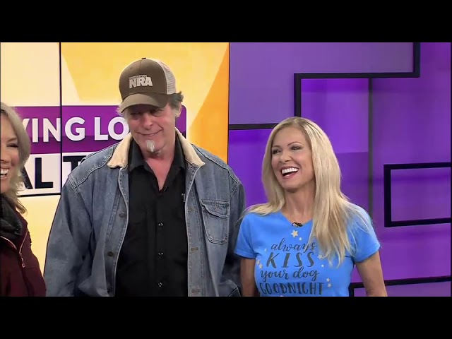FOX44 News: Ted and Shemane Nugent drop by studio