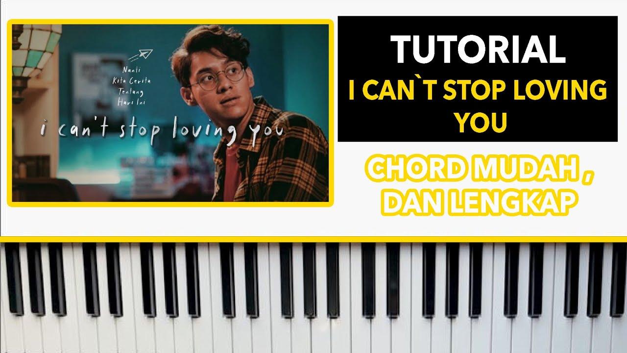 I Can`t Stop Loving You   Ardhito Pramono   PIANO tutorial by rafly