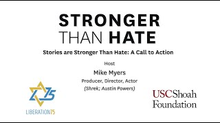 Stories Are Stronger Than Hate: A Call to Action