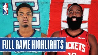 HORNETS at ROCKETS | FULL GAME HIGHLIGHTS | February 4, 2020
