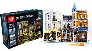 Lepin Street View 15019B Assembly Square Lego Speed Build