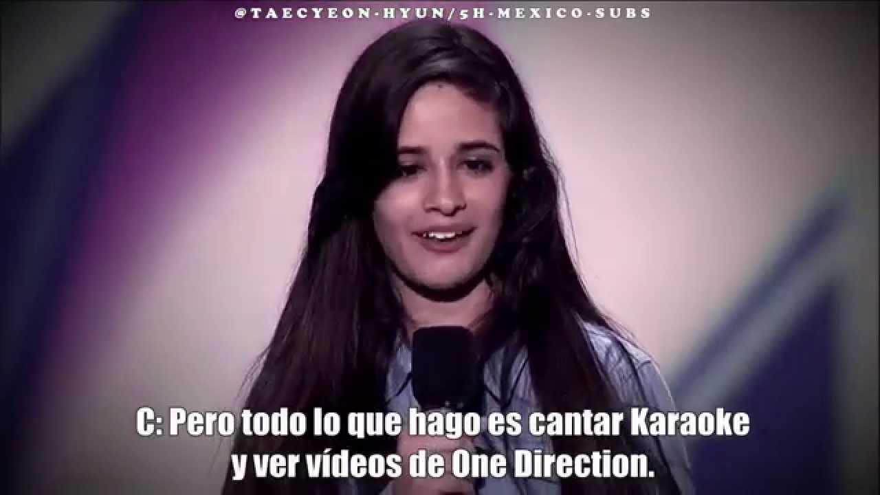 Meet Camila Cabello - The X Factor Audition (TV Ver.) [5H-MEXICO-SUBS]