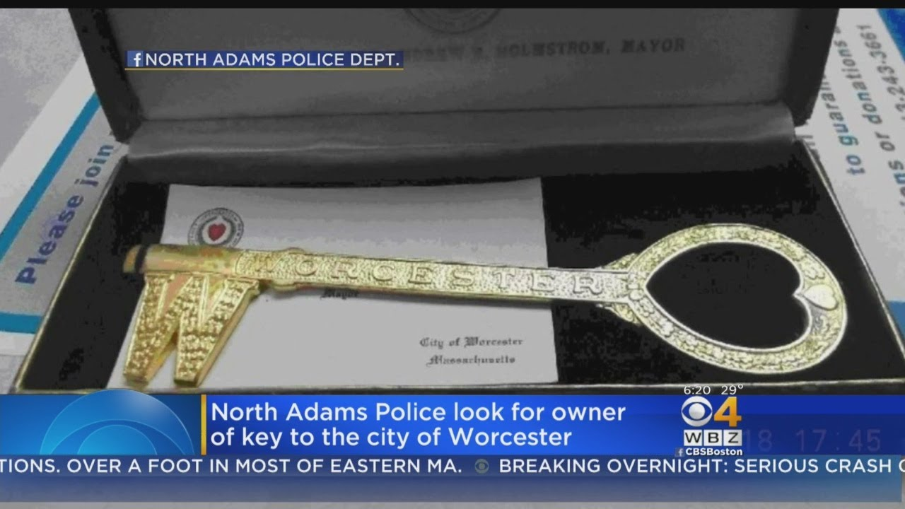 Worcester Key To City Found In Western Mass