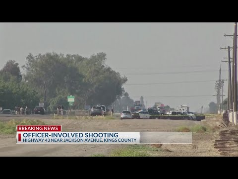 Suspect shot by Kings County deputy during traffic stop