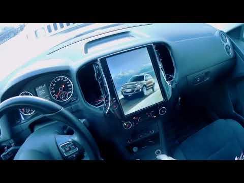 Холодный запуск магнитолы Тесла на Volkswagen Tiguan