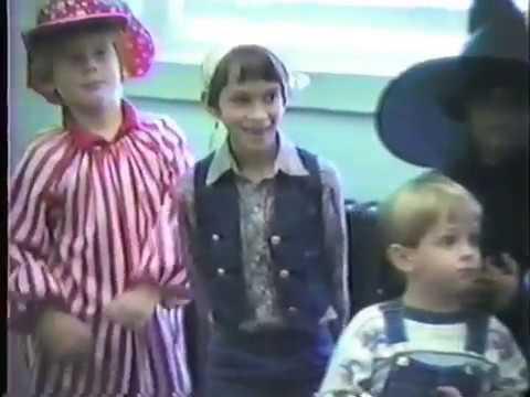 1987 Halloween Parade at Unicoi Elementary School, Unicoi, Tennessee