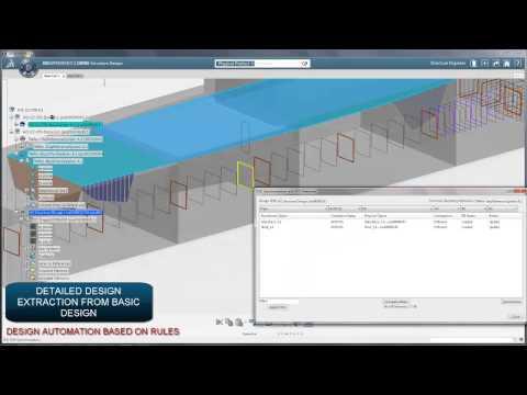 3DEXPERIENCE (CATIA V6) demo of surface ship design process