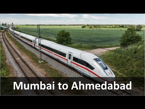 Mumbai to Ahmedabad Bullet Train
