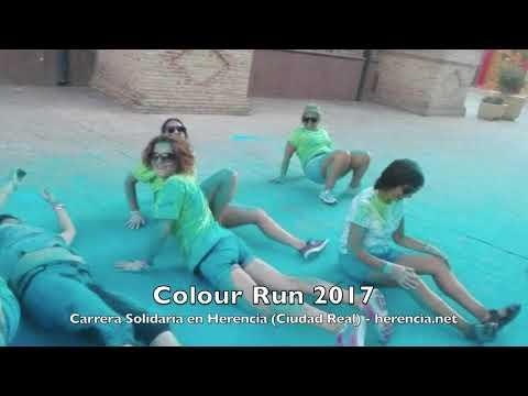 Carrera Solidaria Colours Run 2017 en Herencia (Ciudad Real)