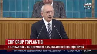 CHP Lideri Kemal Kılıçdaroğlu, partisinin grup toplantısında konuşuyor #CANLI
