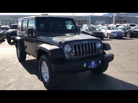 2018 Jeep Wrangler_Unlimited_JK Reno, Carson City, Northern Nevada, Roseville, Sparks, NV JL929631P